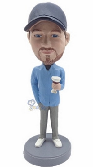 Man with Cup custom bobblehead7