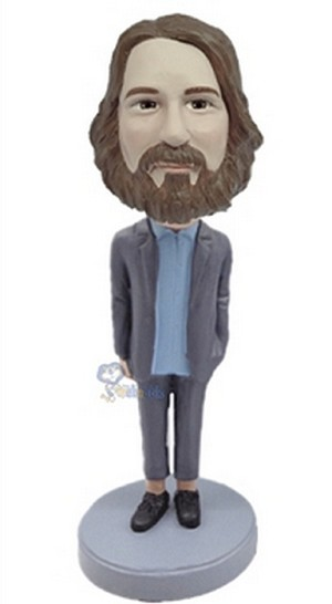Casual Custom Bobble Head 41 | Gift Ideas For Men