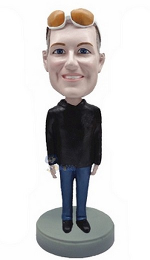 Casual custom bobblehead doll  24