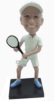 Tennis Custom Bobble Head 4 (Bobbing )