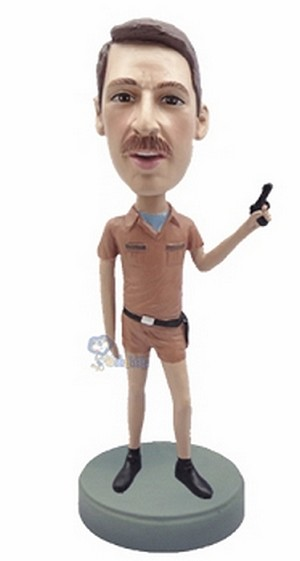 Police man personalized bobblehead doll 7