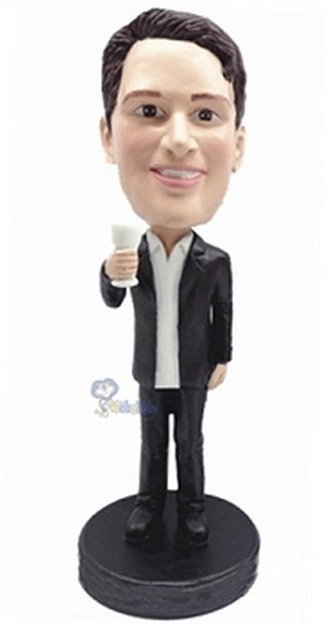 Man With Cup Custom Bobble Head8 | Gift Ideas For Men
