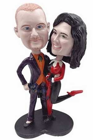 Happy Couple Custom Bobble Head 13 | Gift Ideas For Couples