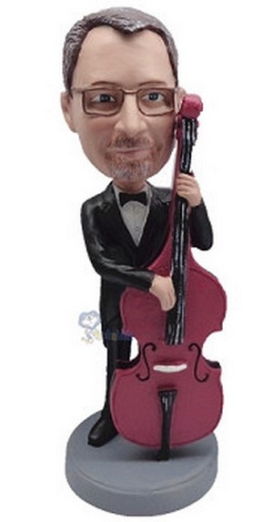 Bass custom bobblehead doll