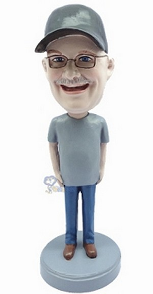 Casual custom bobblehead doll  29