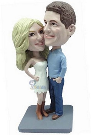 Happy Couple Custom Bobble Head 16 | Gift Ideas For Couples