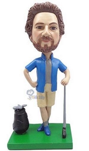 Golfer Custom Bobble Head 6 | Gift Ideas For Men