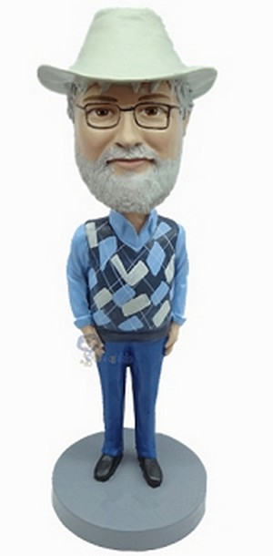 Casual Custom Bobble Head 34 | Gift Ideas For Men