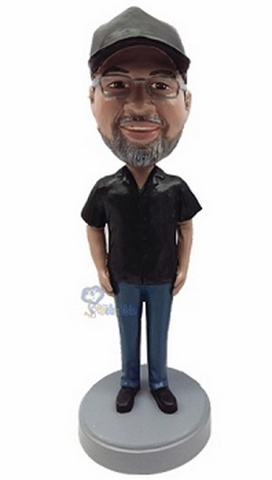 Casual custom bobblehead doll  35