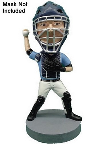 Baseball Catcher Personalized bobblehead doll