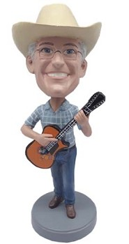 Guitar Custom Bobble Head 7 | Gift Ideas For Men