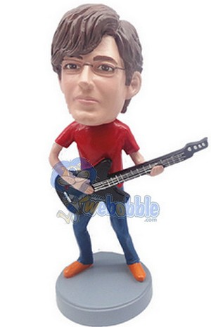 Guitar Custom Bobble Head 5 | Gift Ideas For Men