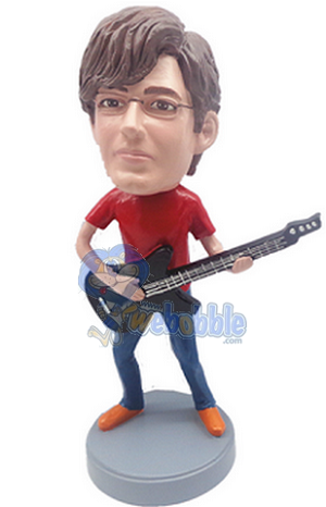Guitar custom bobblehead doll 5