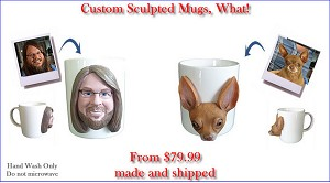 Custom Mug To Look Like Your Photo (Bobbing )