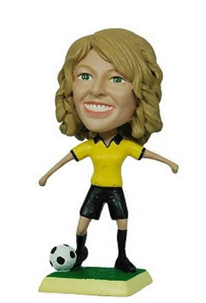 Custom Bobble Head Soccer Female | Gifts For Women