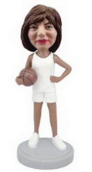 Basketball Female custom bobblehead doll