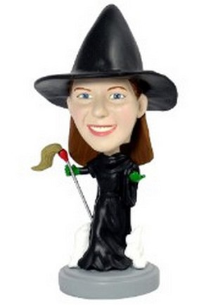 Custom Bobble Head Wicked Witch | Gifts For Women