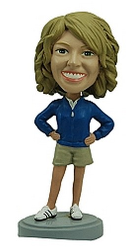 Athletic Women custom bobblehead doll