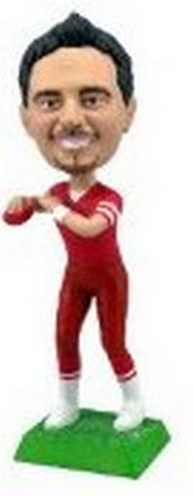 Football Custom Bobble Head (Bobbing )