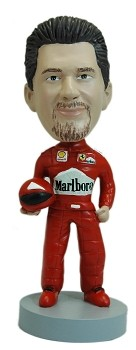 Race Car Driver bobblehead