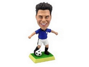 Soccer Man Custom Bobble Head 2 (Bobbing )