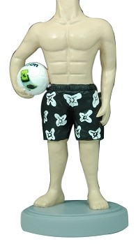 Volley ball custom bobblehead doll