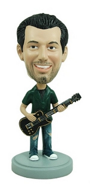 Guitar custom bobblehead doll