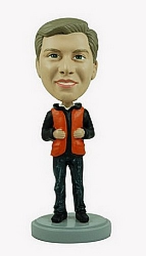 Life Jacket custom bobblehead doll
