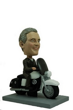 Motorcycle Man custom bobblehead doll 3