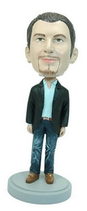 Man With Hands At Side Custom Bobble Head | Gift Ideas For Men