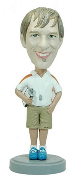 Coach Male custom bobblehead doll 2 (bobbing doll)