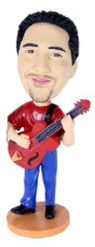 Guitar custom bobblehead doll 3