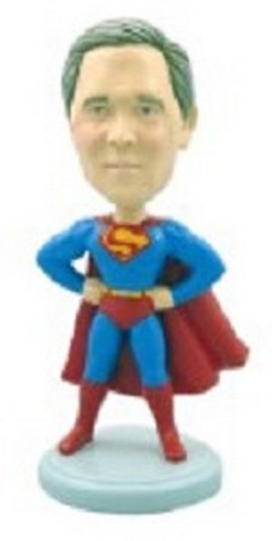 Superman custom bobblehead doll