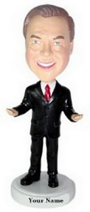 Executive Suit Custom Bobble Head | Gift Ideas For Men