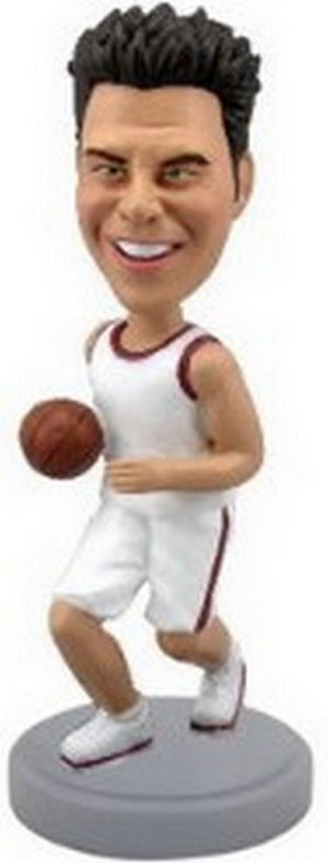 Basketball Player Personalized Bobble Head (Bobbing )