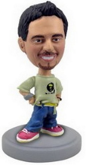Hip Hop Man / Boy Personalized Bobble Head | Gift Ideas For Men