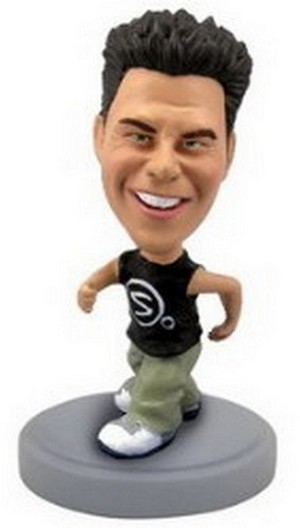 Runner personalized bobblehead doll (Male)