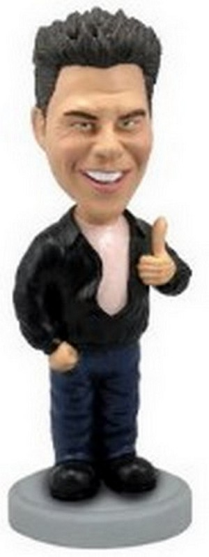 The Fonz custom bobblehead doll (bobbing doll)