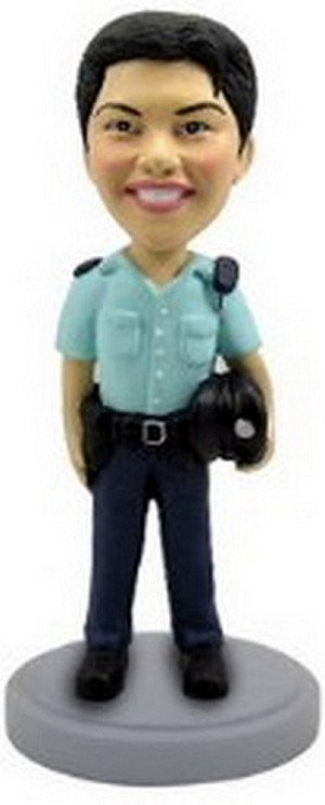 Police Man Personalized Bobble Head | Gift Ideas For Men