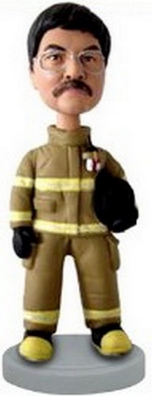 Fireman Custom Bobble Head