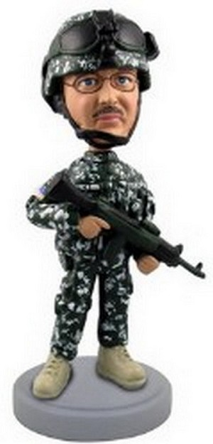 Military Custom Bobble Head | Gift Ideas For Men