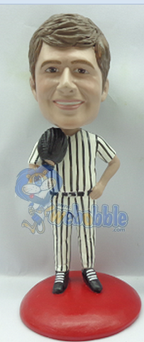 Baseball player custom bobblehead 8