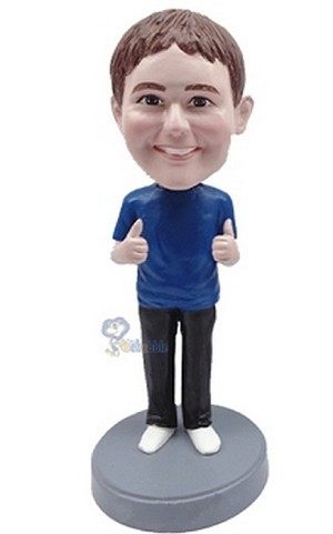 Casual custom bobblehead doll  37